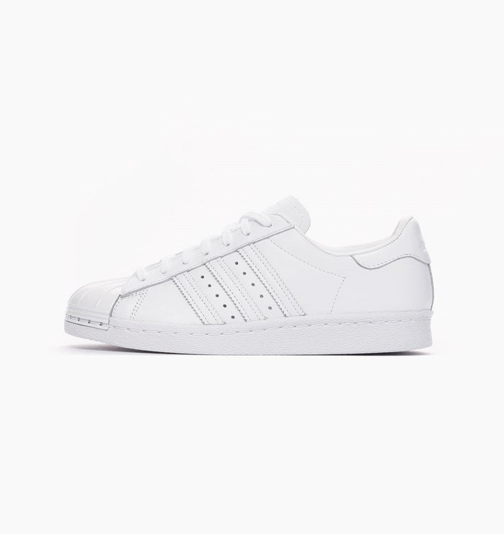 adidas superstar 80s all white
