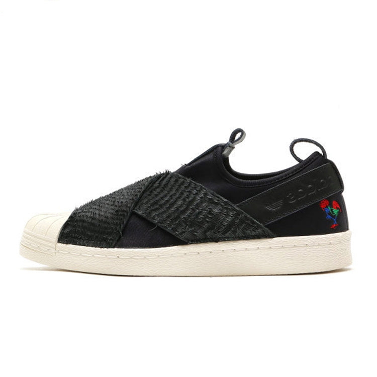 sports shoes 7b60b daf70 Adidas Superstar Slip On CNY Black Women's