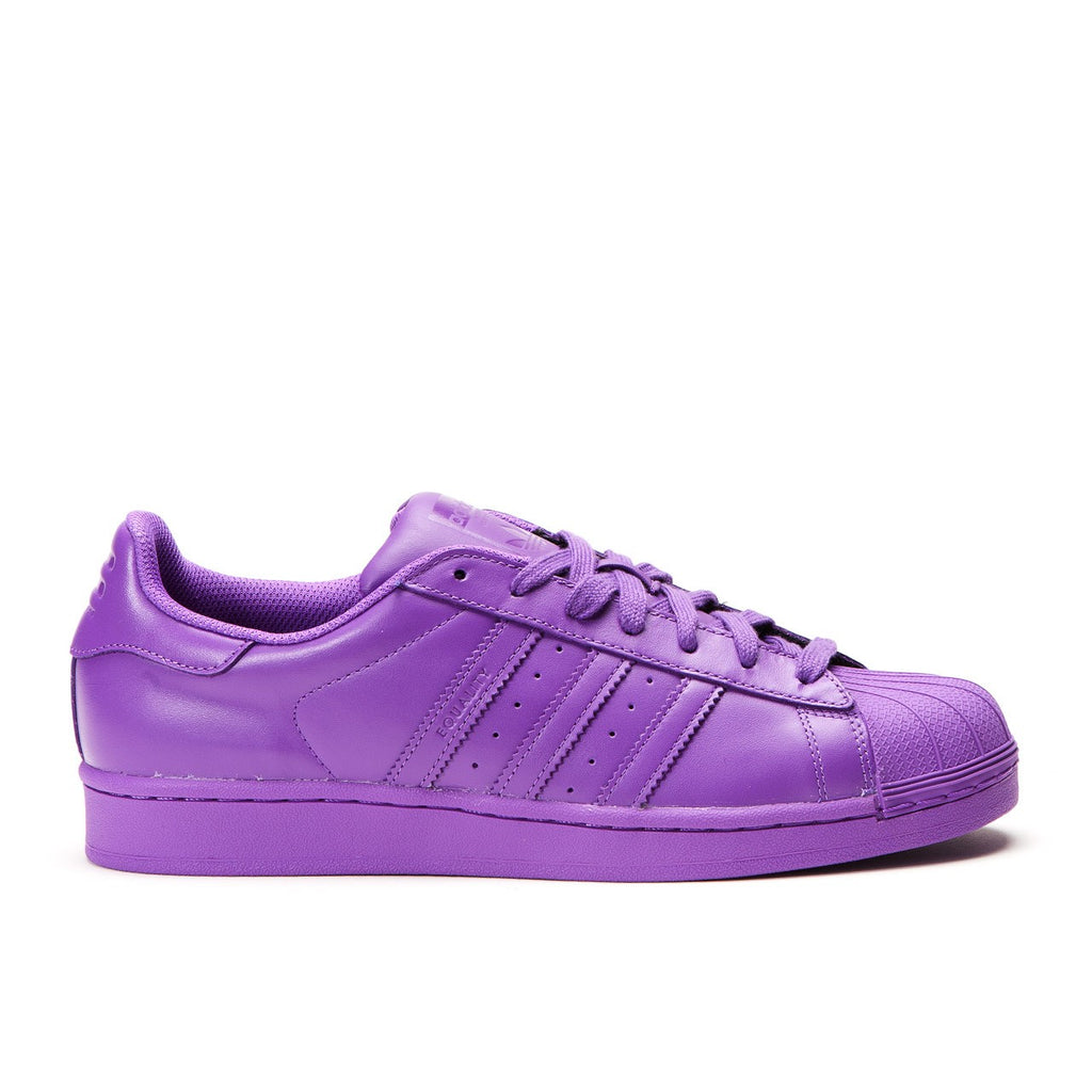 55a14bf88aa54 ... Adidas X Pharrell Williams Superstar Supercolor Pack Ray Purple Men s -  Pimp Kicks ...