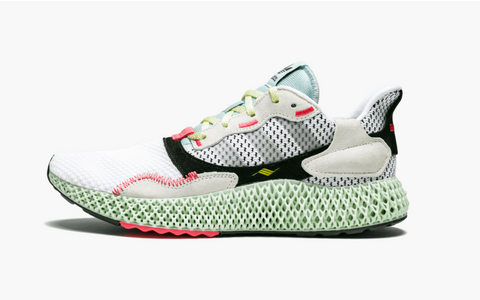 Adidas ZX 4000 4D White Grey Men's - Pimp Kicks