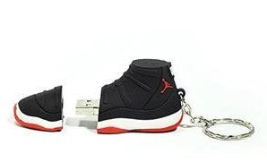 Jordan 11 Bred USB Flash Drive 8GB - Pimp Kicks