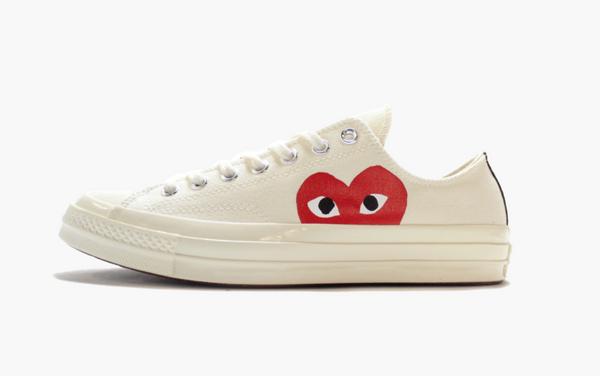Converse X CDG Chuck Taylor All Star Low Play White Men's