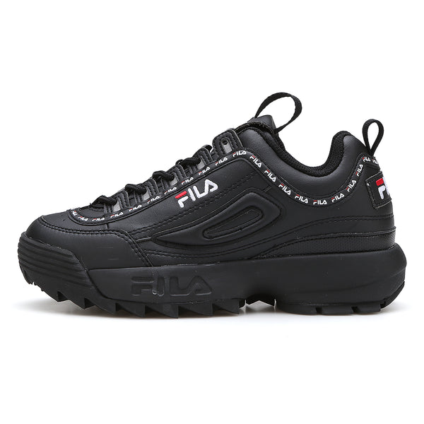 FILA Disruptor 2 Tapey Tape Black Women's - Pimp Kicks