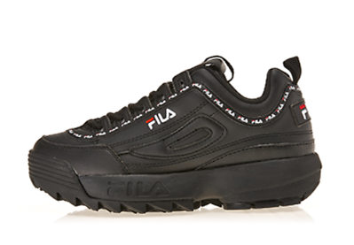 FILA Disruptor 2 Tapey Tape Black Women's