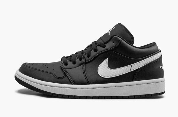 Jordan 1 Low Black White Women's