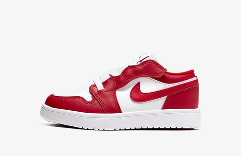 Jordan 1 Low Alt Gym Red White (Preschool)
