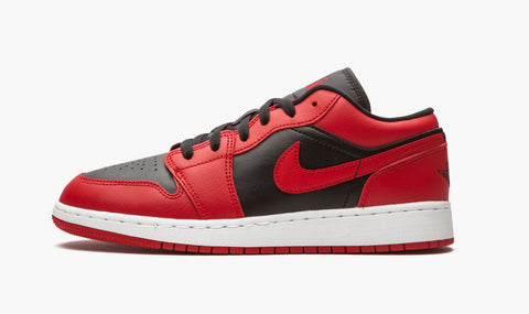 Jordan 1 Low Reversed Varsity Red (Gradeschool)