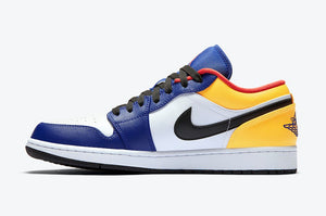 Jordan 1 Low Royal Yellow (Gradeschool)