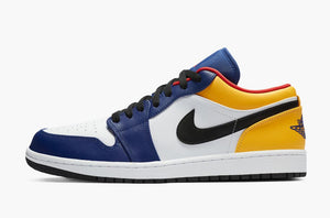 Jordan 1 Low Royal Yellow Men's