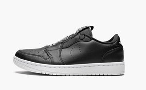 Jordan 1 Low Slip On Black White Women's