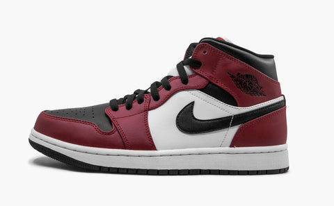 Jordan 1 Mid Chicago Black Toe Men's