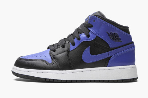 Jordan 1 Mid Hyper Royal 2020 (Gradeschool)