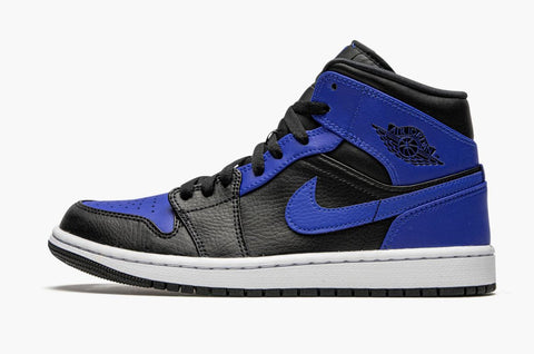 Jordan 1 Mid Hyper Royal Blue Men's