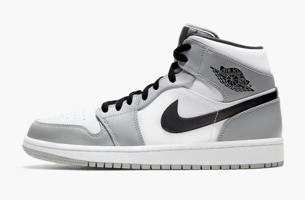 Jordan 1 Mid Light Smoke Men's