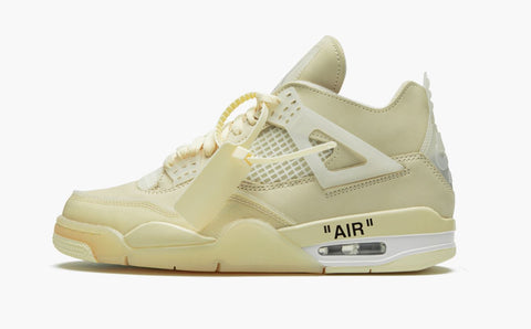Jordan 4 Retro Off-White - Sail Women's