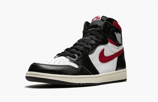 Jordan 1 HIgh  Black White Gym Red Men's