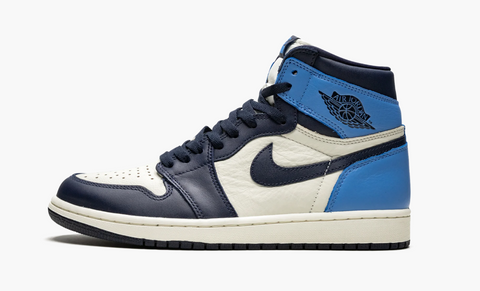 Jordan 1 High Obsidian UNC Men's
