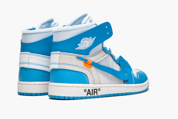 Jordan 1 High Off White UNC Men's