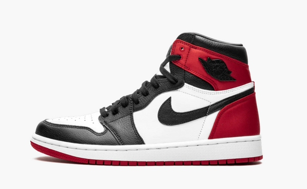 Jordan 1  High Satin Black Toe Women's