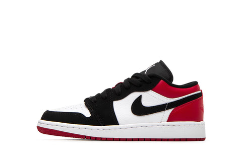 Jordan 1 Low Black Toe (Gradeschool)