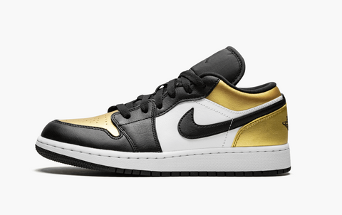 Jordan 1 Low Gold Toe (Gradeschool)