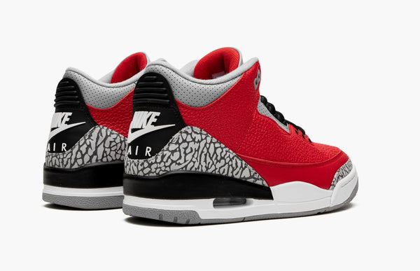 Jordan 3 Red Cement Men's