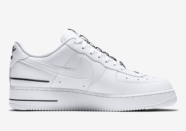 Nike Air Force 1 Low Double  White Black Men's