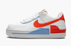 Nike Air Force 1 Low Shadow White Team Orange Women's