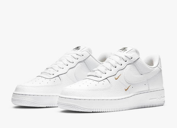 Nike Air Force 1 Low '07 Low Essential White Metallic Gold Women's