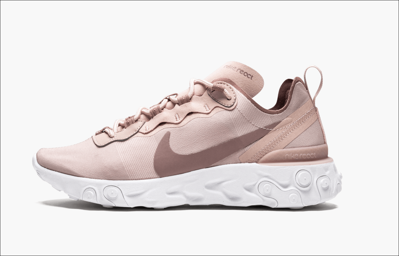 Nike React Element 55 Particle Beige Women's