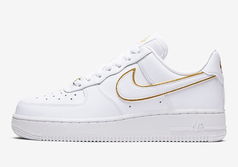 Nike Air Force 1 Low Gold Swoosh Women's