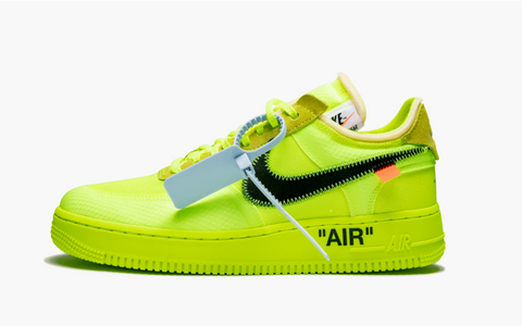 Nike Air Force 1 Low Off-White Volt Men's