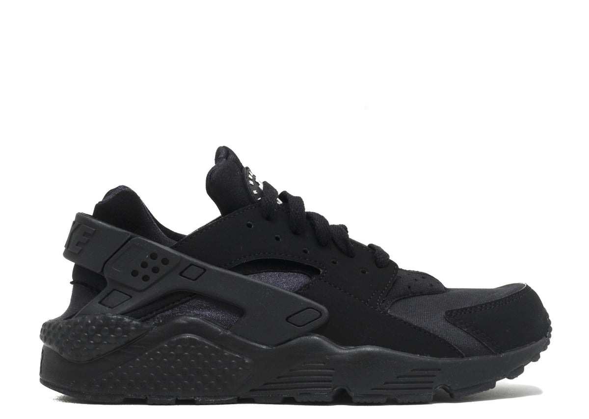best service 8e4ab c0e3e Nike Air Huarache Run Triple Black Men's