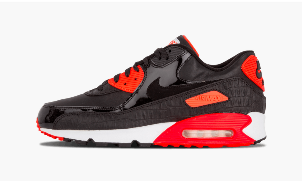 Nike Air Max 90 Anniversary Black Croc Men's