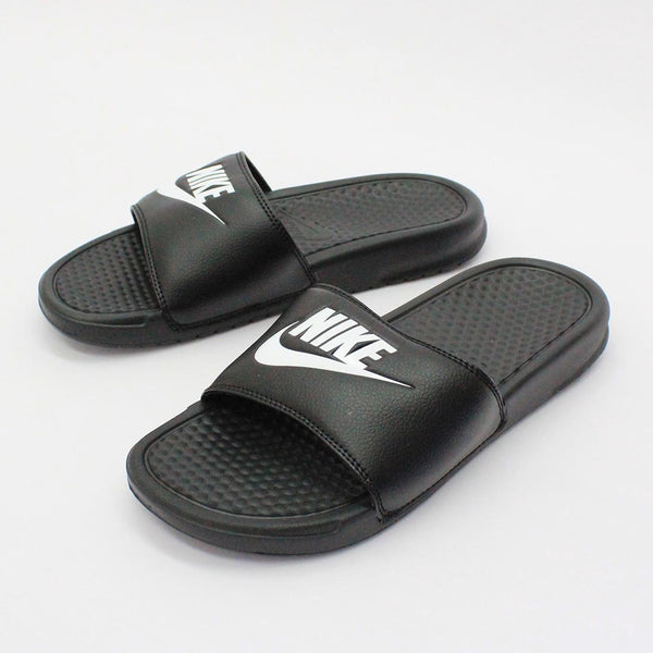 Nike Benassi JDI Sandals Black Men's - Pimp Kicks