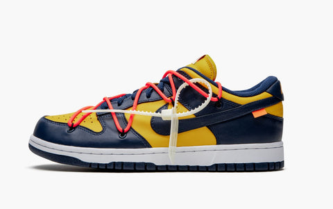 Nike Dunk Low Off-White University Gold Men's