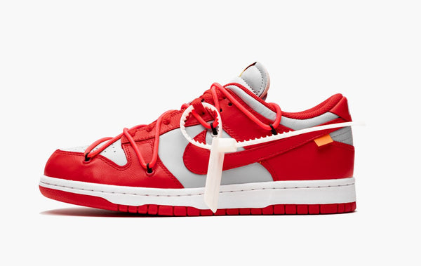 Nike Dunk Low Off-White University Red Men's