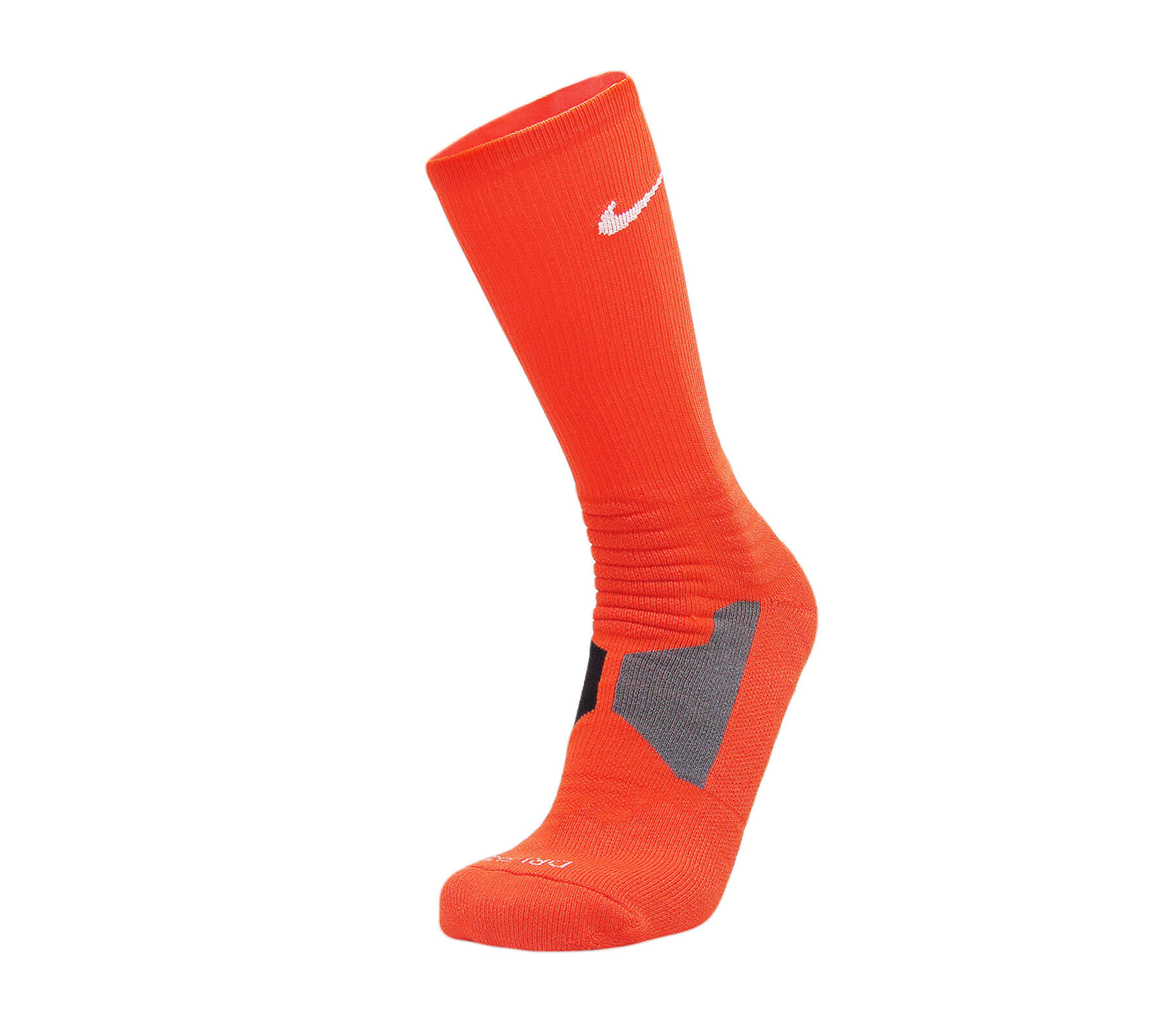 Nike Hyper Elite Basketball Socks Bright Orange White - Pimp Kicks