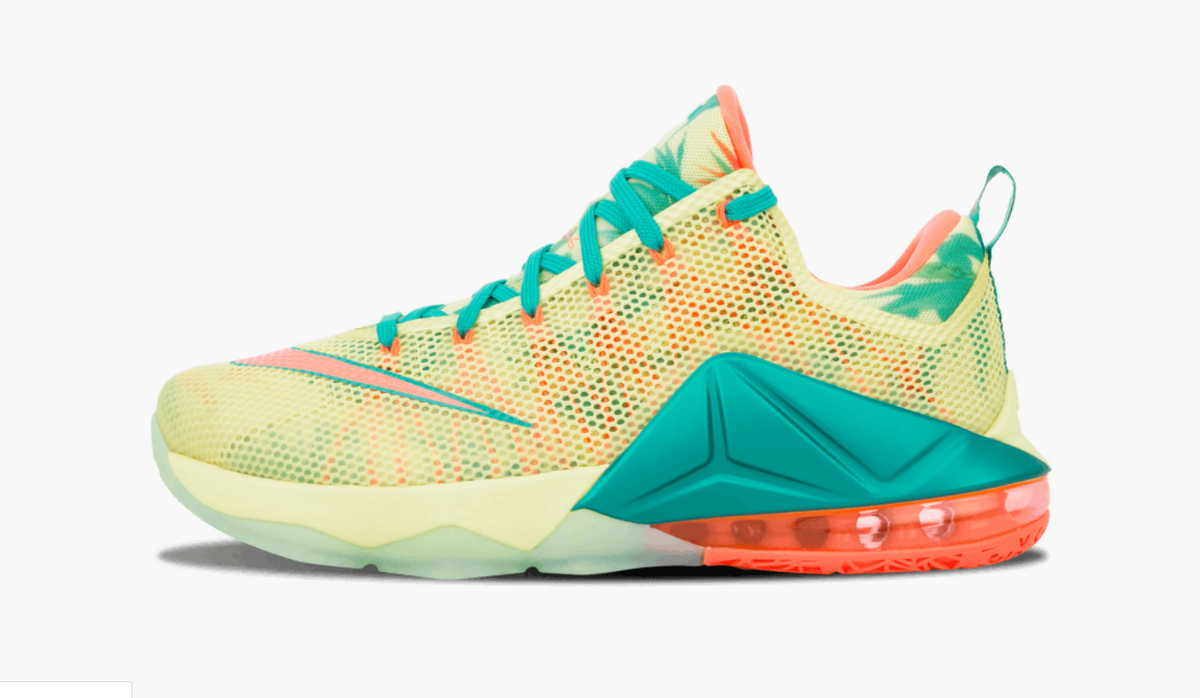 innovative design b1621 339cf Nike Lebron 12 Low PRM EP LeBronold Palmer Men's