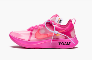 Off-White X Nike Zoom Fly SP Pink Men's