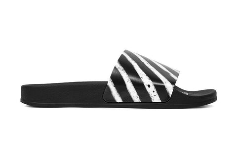 Off White Spray SLider Black Men's