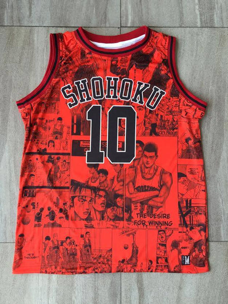 Shohoku Red Jersey - Pimp Kicks