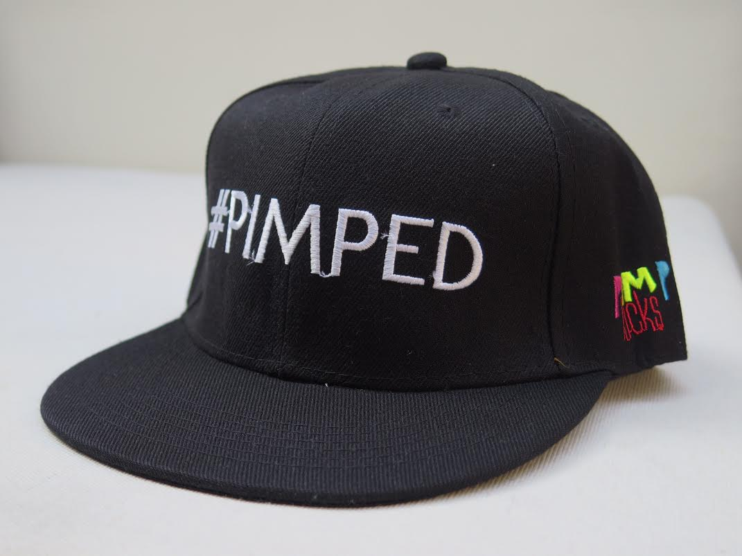 Pimp Kicks Snapback Black Pimped Cap - Pimp Kicks