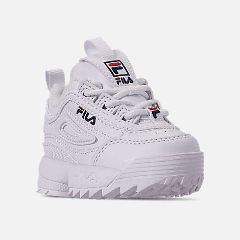 de803f3f73b60 ... Fila Disruptor 2 White Infant s - Pimp Kicks