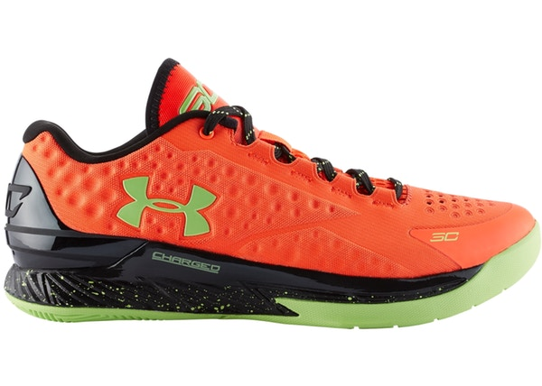 65904e9f4c6f2 ... Under Armour Steph Curry One 1 Low Bolt Orange Men s - Pimp Kicks ...