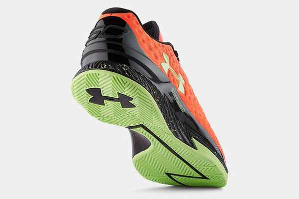 Under Armour Steph Curry One 1 Low Bolt Orange Men's - Pimp Kicks