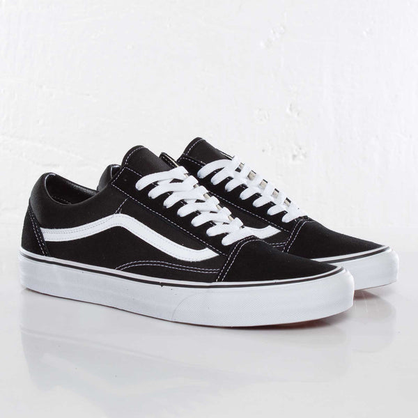 Vans Classic Black White Men's - Pimp Kicks