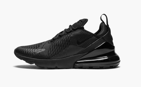 Nike Air Max 270 Triple Black Women's