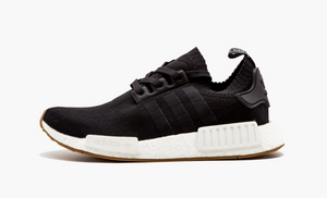 Adidas NMD R1 Primeknit Black Gums Sole Men's - Pimp Kicks