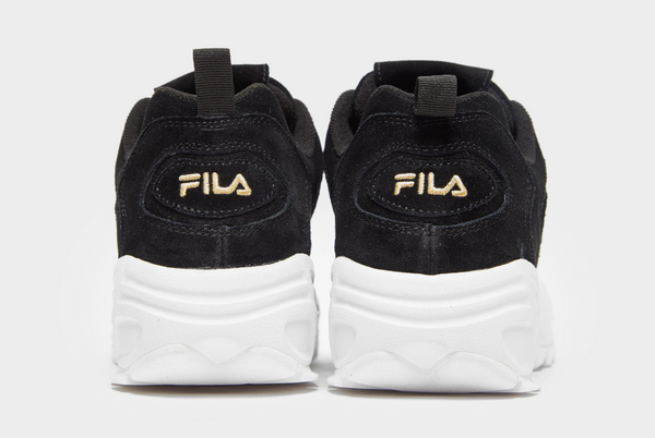 Fila Disruptor 3 Black Suede Men's - Pimp Kicks